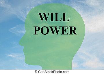 voluntad, concepto, potencia