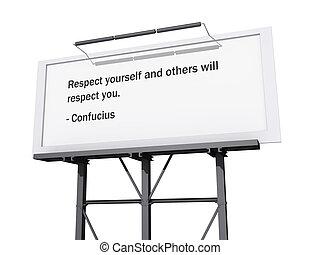 voluntad, you., otros, respeto, usted mismo
