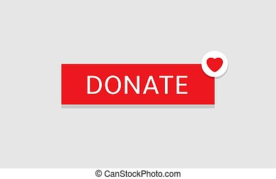 Donate button icon