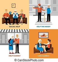Volunteers People 2x2 Design Concept - Volunteers 2x2 design...