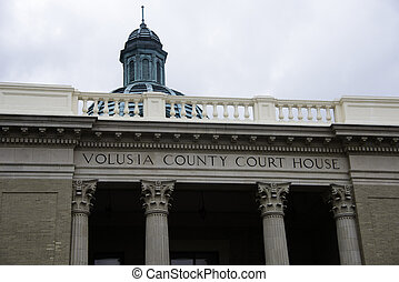 Volusia County Court House in DeLand, Florida.