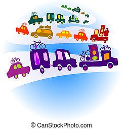 vontatott lakókocsi