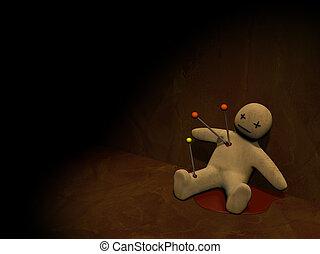 voodoo, 3, docka