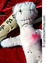 Voodoo Doll #2 - a close up of a genuine voodoo doll with ...