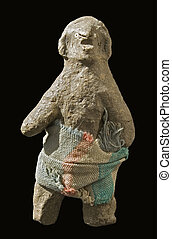 voodoo doll - original old African voodoo figurine from ...