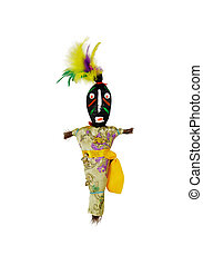 Voodoo doll representing an interesting culture of magic and...