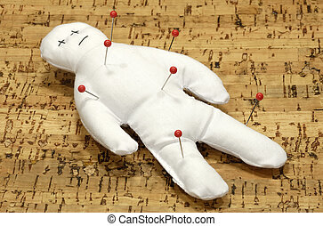 Voodoo Doll With Pins