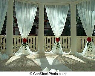 voor, trouwfeest