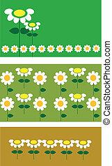 voorbeelden, lief, bloem, boompje