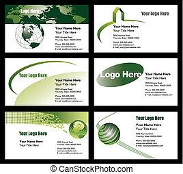 voorbeelden, visitekaartje