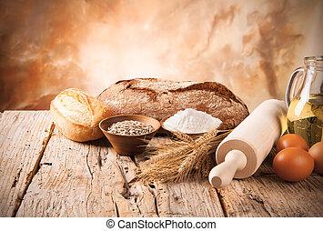 voorbereiding, brood