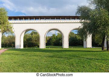 voorkant, aquaduct, aanzicht, rostokino