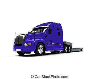 voorkant, auto, vervoerder, vrachtwagen, aanzicht