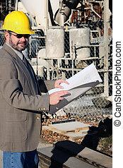 voorman, de arbeider van de bouw