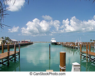 voornaam, bahamas, zee poort