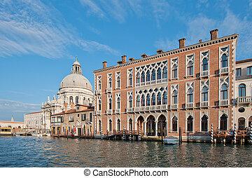 voornaame canal, venetie, italië