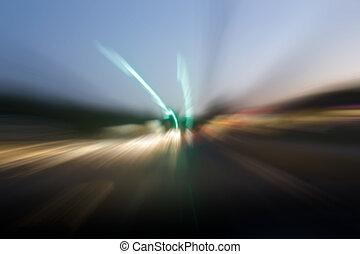 vooruit, speeding