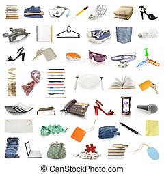voorwerpen, verzameling
