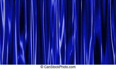 vorhang, blaues