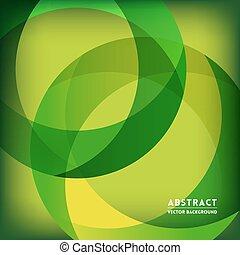 vorm, cirkel, groene samenvatting, achtergrond