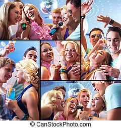 vornehm, party