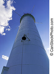 Vorontsov lighthouse in Odessa harbor, Ukraine - Vorontsov...