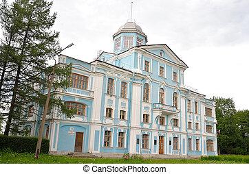 Vorontsov palace or Novoznamenka. - Vorontsov palace or...