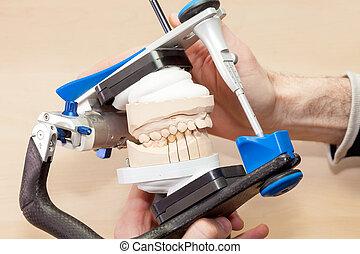 vorrichtung, dental, prothetisch, gesichtsbehandlung
