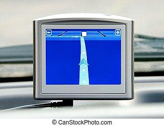 vorrichtung, navigationssystem, gps