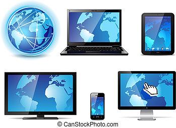 vorrichtungen & hilfsmittel, elektronisch