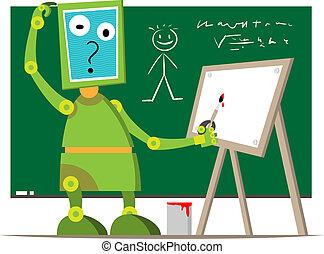 vorstellen, roboter