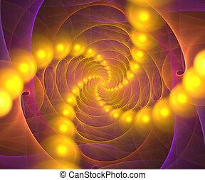 vortex, fractal