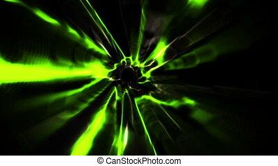 vortex, noir, conception, vert