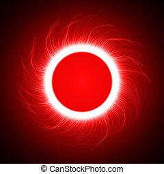 vortex, ring.(big, version), énergie, anneau