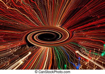 vortex, trou noir