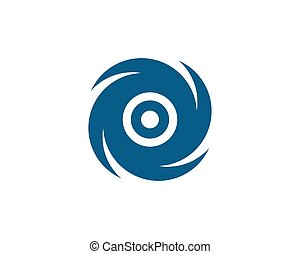 Vortex vector illustration icon Logo
