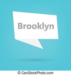 vortrag halten , brooklyn, wortblasé