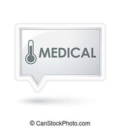 vortrag halten , medizin, wortblasé