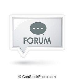 vortrag halten , wort, forum, blase