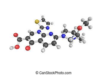 vosaroxin, adn, site-selective, topoisomerase, voreloxin, abîmer, ii, aussi, causer, connu, inhibitor, structure, 3d