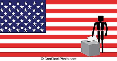 votación, américa