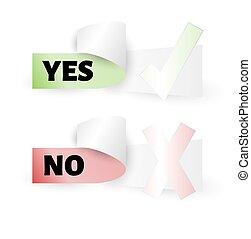 votando, etiqueta