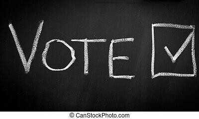vote, élection
