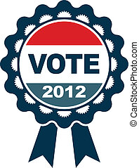Vote 2012 badge