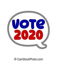 Vote 2020 - vector illustration