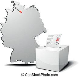 vote, allemagne, hambourg