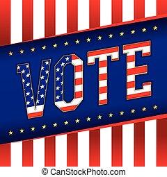 Vote Banner Illustration