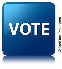 Vote blue square button