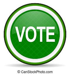 vote green icon