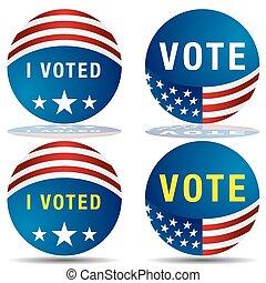 Vote Icon Set
